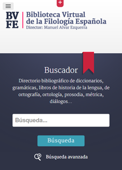 Sugerencias y envío de direcciones URL a la Biblioteca Virtual de la Filología Española