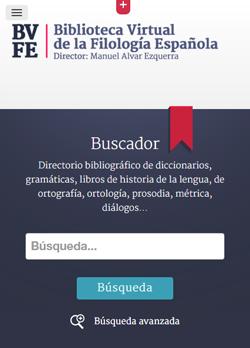 Sugerencias y envío de direcciones URL a la Biblioteca Virtual de la Filología Española