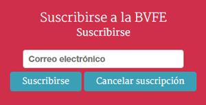 Suscribirse a la Biblioteca Virtual de la Filología Española